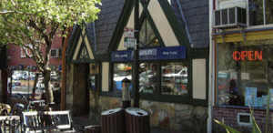 Retail Store Front in the Marin County town of Fairfax
